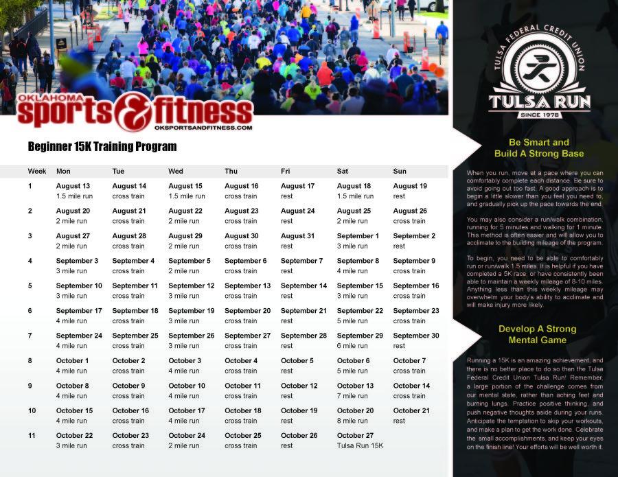 15k Training Program