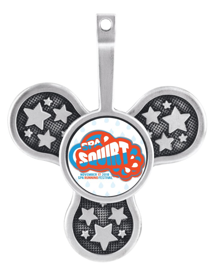 Spa Squirt Medal
