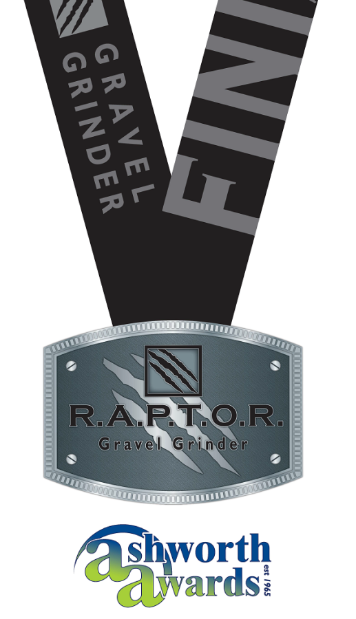 2018 Gravel Grinder Finisher Buckle