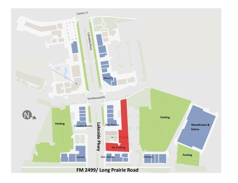 Lakeside 5K Parking Map