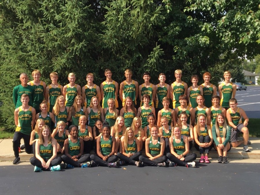 2018 Calvin Christian XC Team
