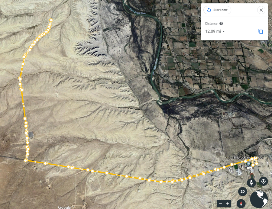 Sprint Bike Route