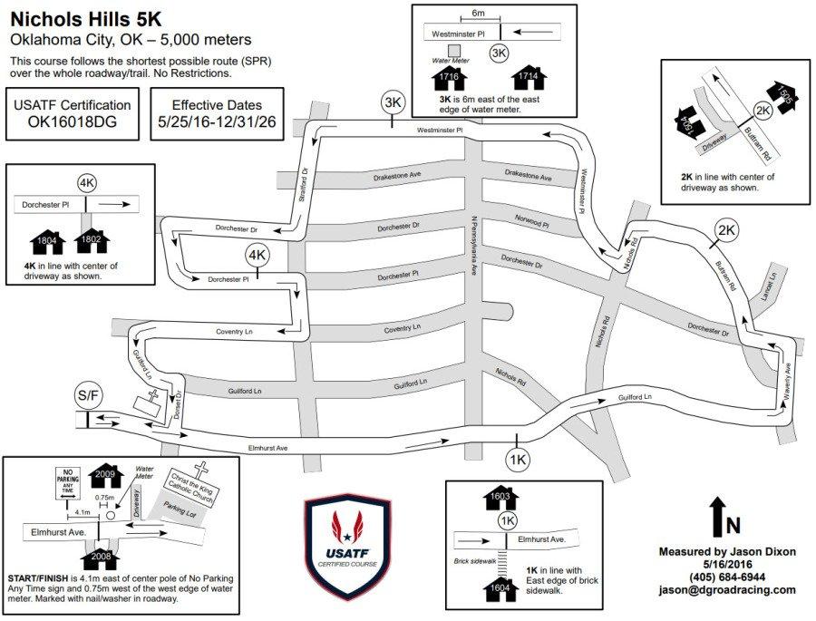CK Run Route