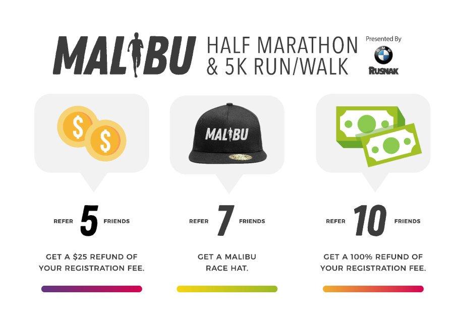 Malibu Race Referral Program
