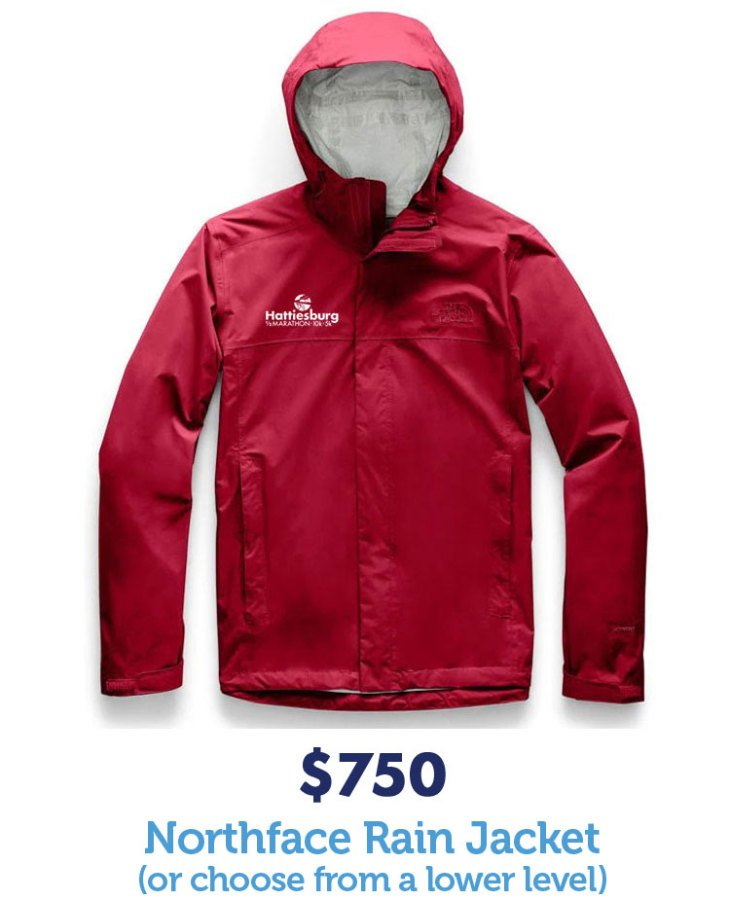 $750 Northface Rain Jacket