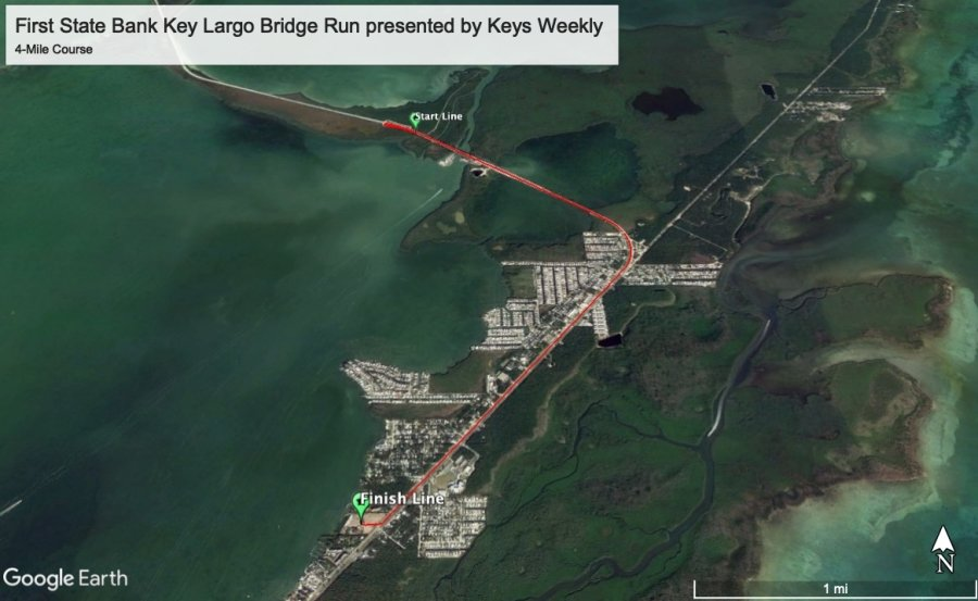 First State Bank Key Largo Bridge Run 4-Mile Run/Walk presented by Keys Weekly