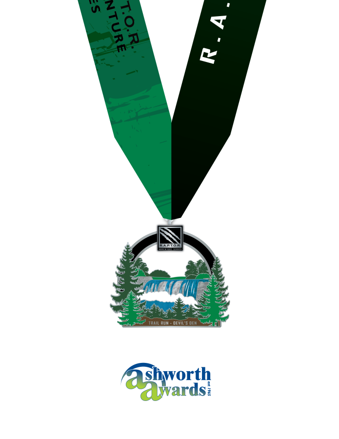 2019 Trail Run Finisher Medal