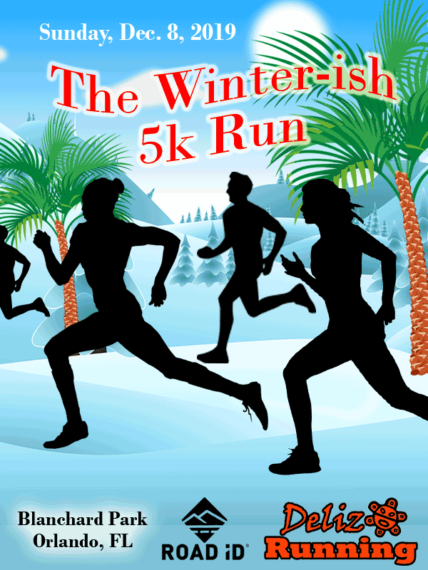 The Winterish 5k Run at Blanchard Park