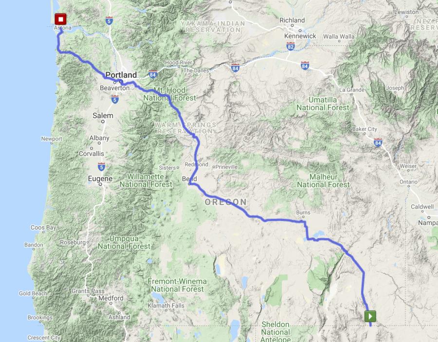 The Oregon Run - High Desert Route