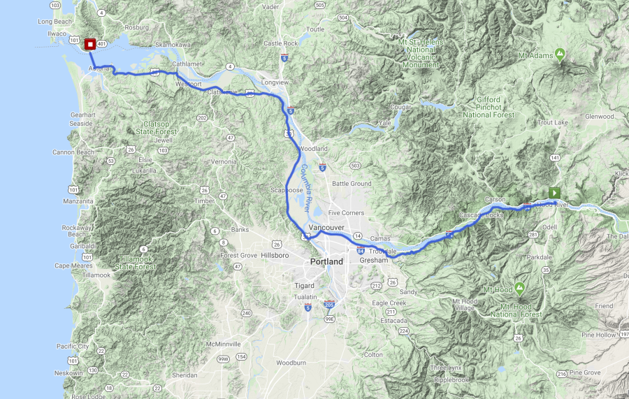 The Gorge Route