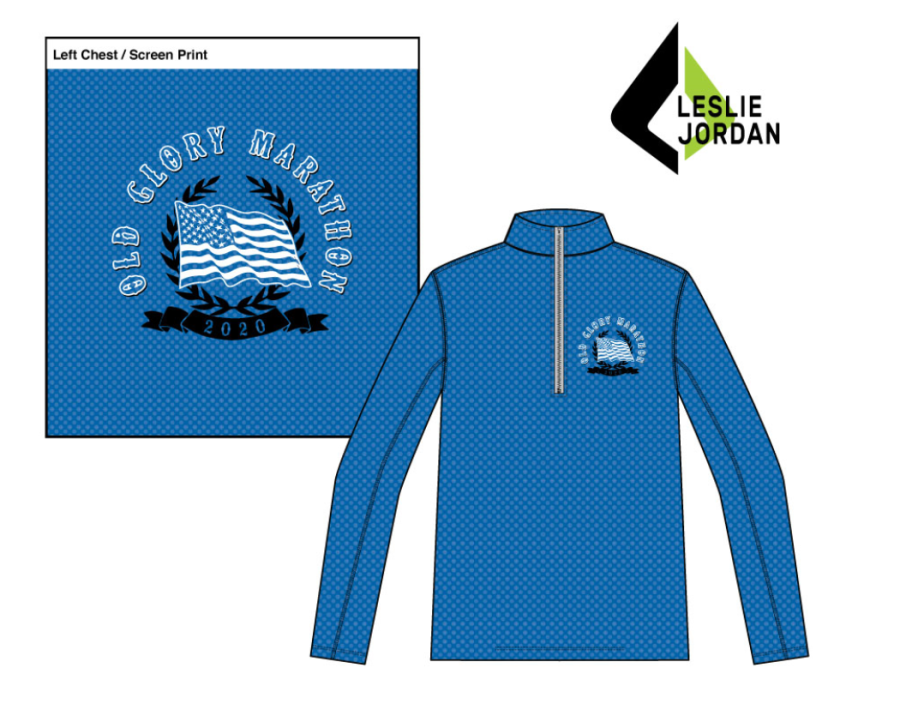 OGM Quarter Zip for Half, Full, and All-American participants