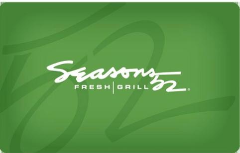 Seasons 52 gift card