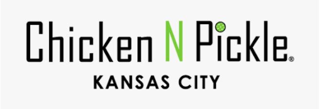 Chicken n pickle kansas city logo