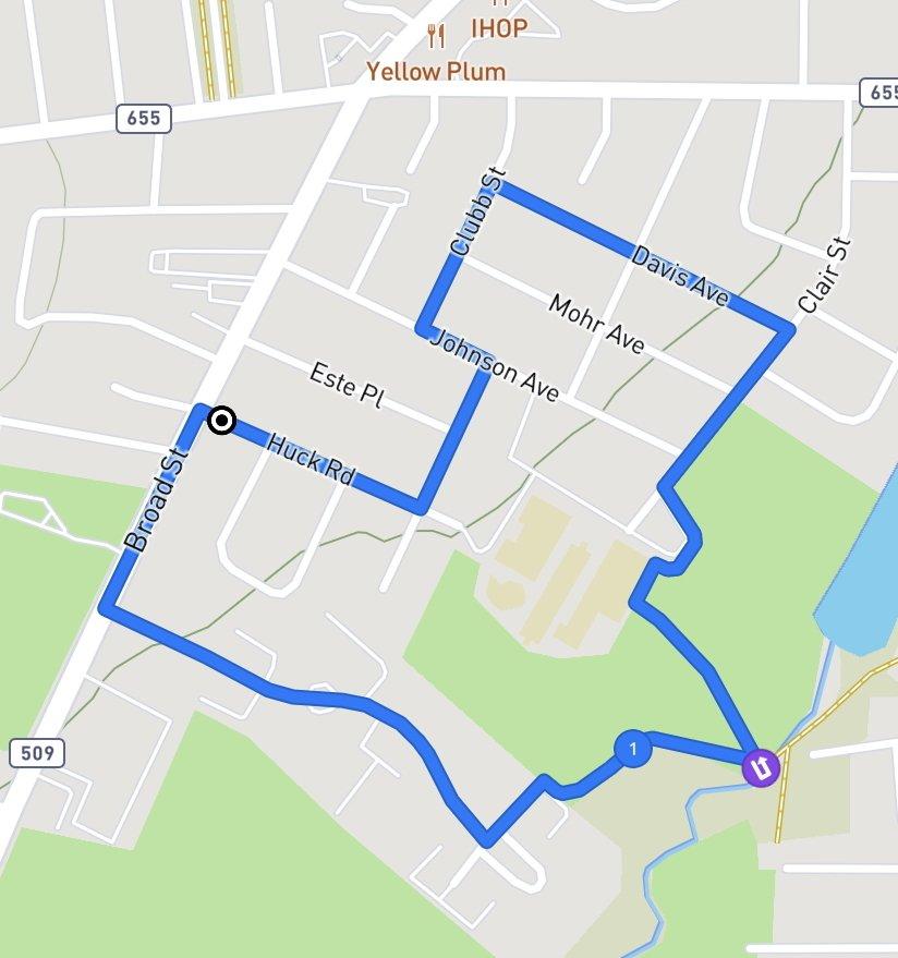 TNT Wellness Challenge 5K Route
