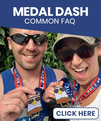 Medal Dash Frequently Asked Questions