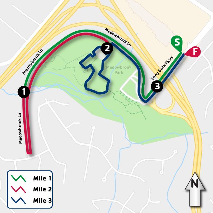 Ellicott City race map
